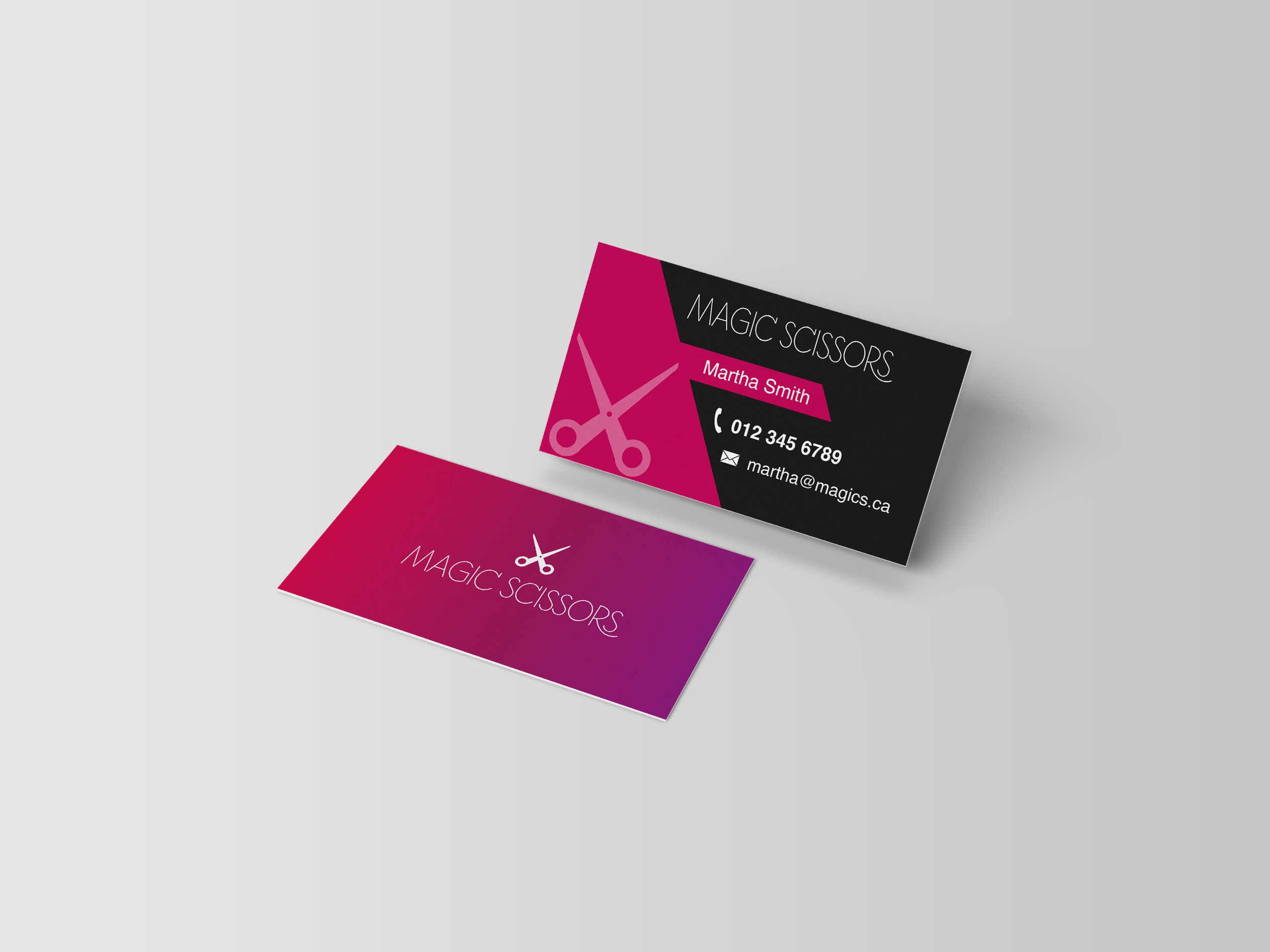 Business Cards - 17pt Gloss Laminated