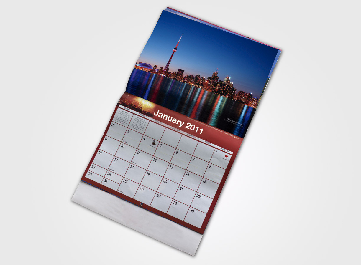 Wall Calendars - 80lb Gloss Text