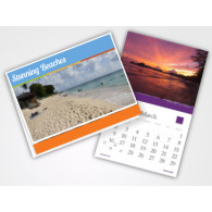 Wall Calendars - 100lb Gloss Text