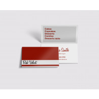 Foldover Business Cards