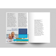 Booklets 8.5x5.5 - 80lb Gloss Text